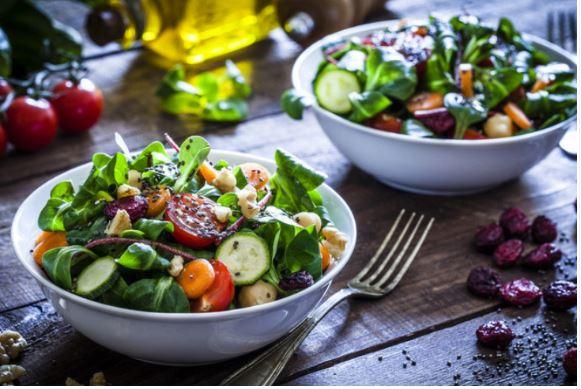 giảm cân nhờ rau xanh