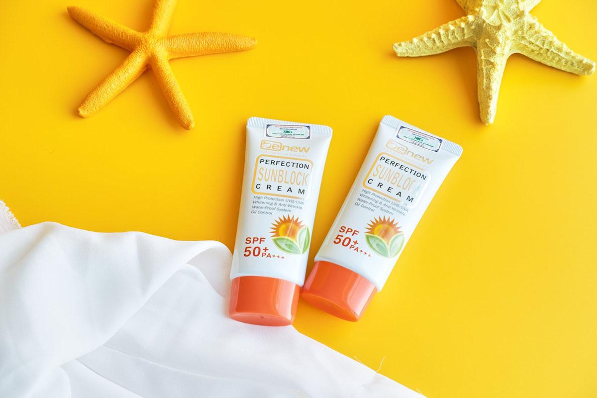 Benew Perfection Sunblock Cream 50ml