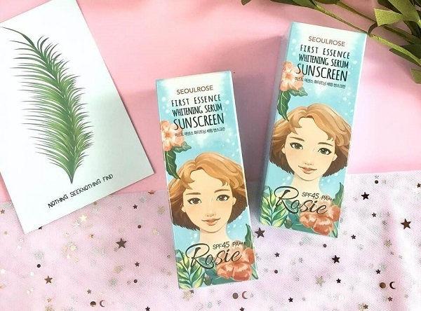 kem-chong-nang-rosie-first-essence-whitening-serum-sunscreen